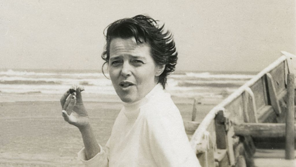 portrait of Charlotte Perriand