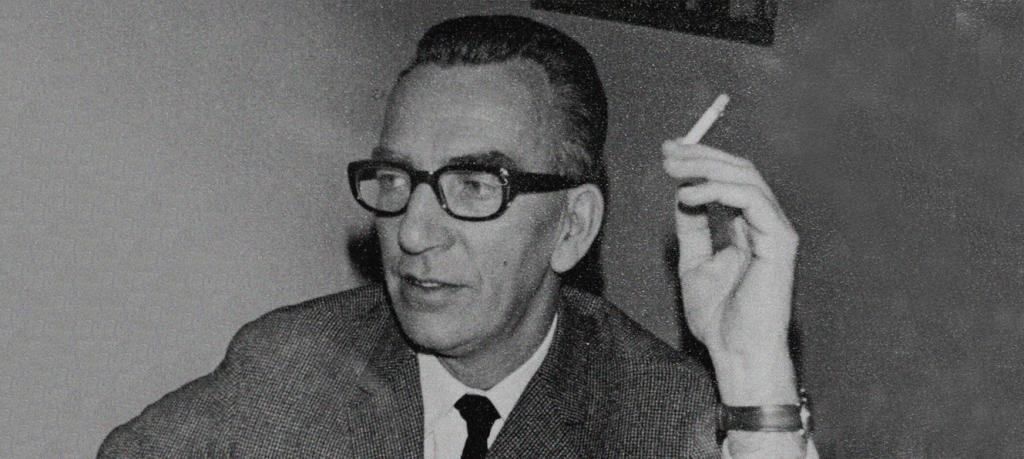 portrait of J.J.M. Hoogervorst